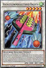 Yu-Gi-Oh! Hochgeschwindigkeitsroid Hagoita  BOSH-DE049  1.Auflage
