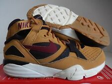 NIKE AIR TRAINER MAX '91 HAYSTACK-TEAM RED-VELVET BROWN SZ 7 [309748-700]