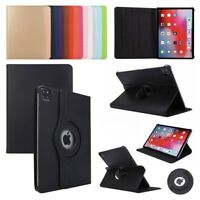 Case For Apple iPad Air Pro 11 2020 Flip Leather Cover 360° Rotating Smart Stand