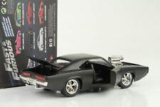 1968 Doms Dodge Charger R/T Fast and & Furious 7 matt schwarz 1:24 Jada