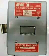 E-Mon D-Mon 480200 3-Phase Kwh / Kilowatthour Meter 200A 4 Wire 277/480 used