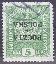 Austria Poland Poczta - Polska 1919 Krakow Very Rare Signed # 39