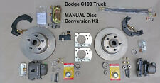 "1949-1953 DODGE B100 FRONT MANUAL DISC BRAKE CONVERSION KIT 11"" Standard Rotors"