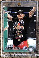 🔥 DUSTIN POIRIER  *2015 UFC Topps Chronicles #114 👊🏻 GREEN PARALLEL 6/288 *SP