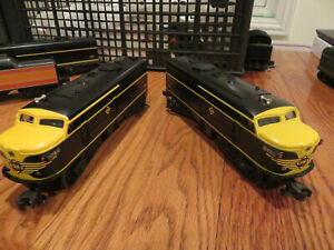 Lionel Trains- Erie Line - 2 Locomotives and electric tender ...3 pieces NEW!!