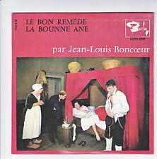 Jean-louis BONCOEUR Disque 45T EP LE BON REMEDE - LA BOUNNE ANE Folk BARCLAY