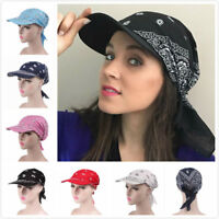 Head Scarfs With Sun Visor Unisex men women & kids In A Bandana style 5 for 4New