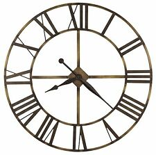 625-566 Wingate Oversized Gallery Wrought Iron Wall Clock Howard Miller 625566