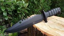 COLTELLO Da Caccia Coltello KNIFE BOWIE COLTELLO Cuchillo Couteau coltello da campeggio