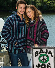 Baja Joe Hoodies are Authentic Mexican Baja Hoodies 100% Recycled Fibers,