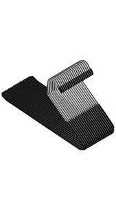 Slack Trousers Pants Hangers 20Pack Strong Durable Metal Non Slip Rubber Coating