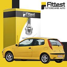 Kit Bulloni Antifurto Fiat Punto 188 seconda serie dal 2001 al 2012 Sicurezza