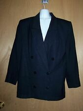 JH COLLECTIBLES Black Size 12 Fully Lined Blazer/Jacket
