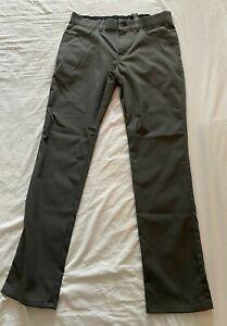 Bolle Homme Performance Confort Flexible Ceinture Golf Pantalon 32X32 Gris