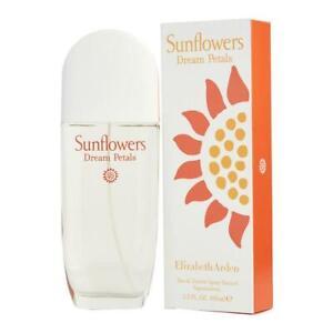 Elizabeth Arden Sunflowers Dream Petals 100ml EDT Spray New Boxed Sealed