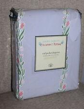 NEW Laura Ashley Rod Pocket Draperies - Lilac Castleberry Window Treatment