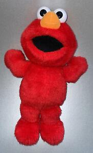 "Large 16"" Tickle Me Elmo Plush Soft Talking Toy Sesame Street 2007, Fisher Price"