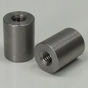 """5/16""""-18 Straight Threaded Steel Bungs QTY 2 DIY Fabrication Builder MADE IN USA"""