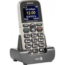 Primo 215 by Doro teléfono móvil GSM + cargador de mesa móvil beige sin contrato