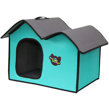 Fold Away Portable Collapsible Travel Pet House Kennel Indoor Cat Dog Green XL