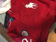 Polo by Ralph Lauren 2012 Olympics USA rugby polo  golf cotton shirt men's Large