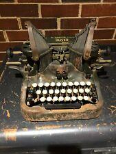 Oliver Typewriter No 9 Printype Pat 1912 Chicago Vintage