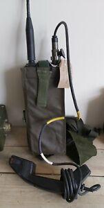 CLANSMAN ARMY MILITARY RADIO UK/PRC349 VHF FM MANPACK