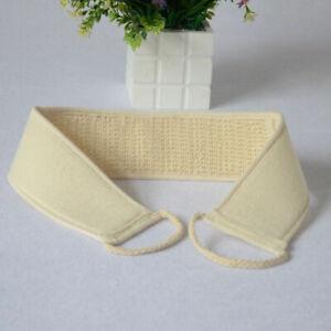 Bath/Shower Back Belt Scrub Body Exfoliating Back Wash Rub Strip/Belt/Sponge