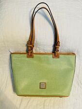 Dooney & Bourke Small Leisure Shopper Tote Bag Purse Lime Green NEW