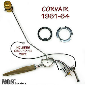 1961-64 Chevy Corvair Premium Stainless Steel Fuel Tank Sending Unit NEW
