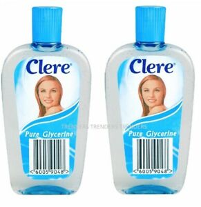 2x Clere Pure Glycerine 200ml (you get 2 bottles)