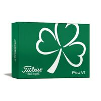 NEW Titleist Pro V1 St. Patrick's Day / Shamrock Golf Balls - 6 Ball Pack