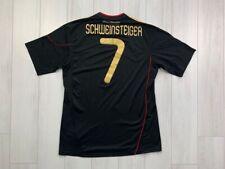 GERMANY AWAY FOOTBALL SHIRT 2010/2011 #7 SCHWEINSTEIGER BLACK ADIDAS JERSEY MEN