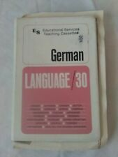 German Language 30: Educational Services Teaching Cassettes (1975)