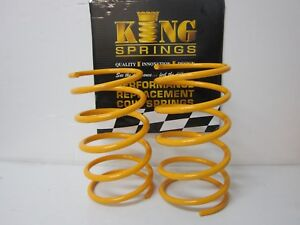 Lowered Front KING Springs suits VZ Holden Crewman Models