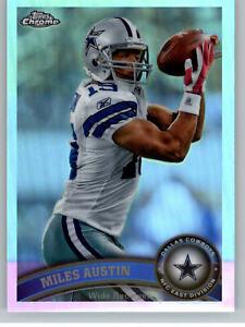 2011 Topps Chrome Refractor #195 Miles Austin - Dallas Cowboys