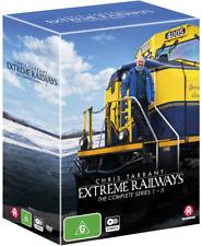 BRAND NEW Chris Tarrant Extreme Railways : Complete Series 1-5 (DVD) *PREORDER