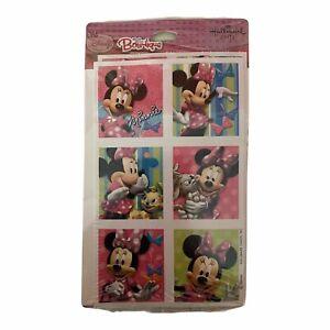 Minnie Mouse Bowtique Disney Birthday Party Favor Sticker Hallmark