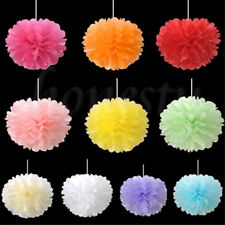 5pcs Tissue Paper Pom Poms Flower Ball Wedding Party Birthday Decoration