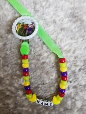 **TELETUBBIES** PERSONALISED DUMMY CLIP👶ANY NAME & COLOUR!! VIEW ALL PHOTOS!!!