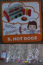 Miniature Re ment Orcara Store Canteen Caca Food Set 5 full