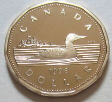 1996 Canada PROOF One Dollar Coin. (UNC. Loonie) (D285-4)