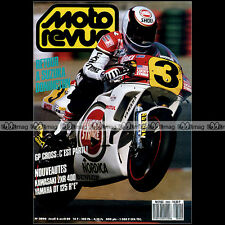 MOTO REVUE N°2890 YAMAHA DT 125 RE DTR E KAWASAKI ZXR 400 JEFF LEISK CROSS 1989