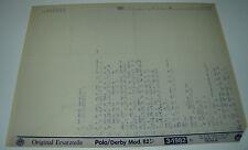 Microfich Ersatzteilkatalog VW Polo II Typ 86 C / Derby Stand März 1982!