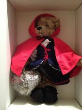 ANNETTE FUNICELLO BEARS LITTLE RED RIDING HOOD NEW IN BOX WITH COA
