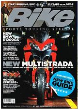 Bike Apr 2010 BMW R1200GS KTM Adventure Tiger VFR1200 K1300S Sprint Multistrada