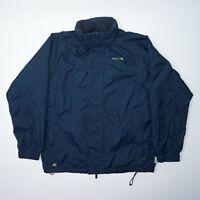 Regatta Hooded Men's Blue Breathable Waterproof Jacket Size L Mint Condition