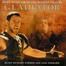 GLADIATOR (BOF): MORE MUSIC FROM - ZIMMER HANS ET GERRARD LISA (CD)