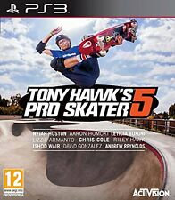 Tony Hawk's Pro Skater 5    PS3  nuovo