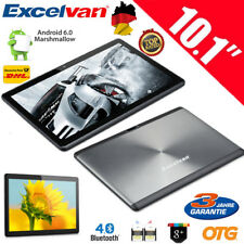 "16GB 10.1""Zoll Quad Core Android 6.0 WIFI BT 3G Tablet PC Dual SIM PAD Computer"
